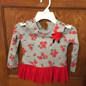 Kids Headquarters off the shoulder top size 5